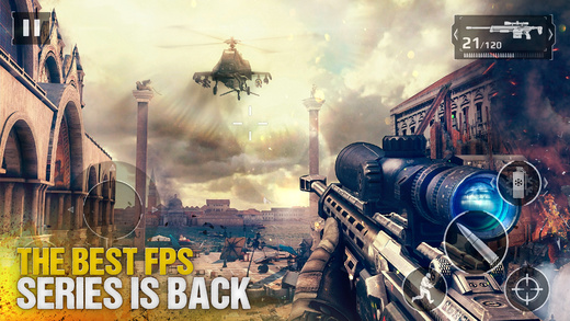 Modern Combat 5: eSports FPS (Ios) 2.5.0